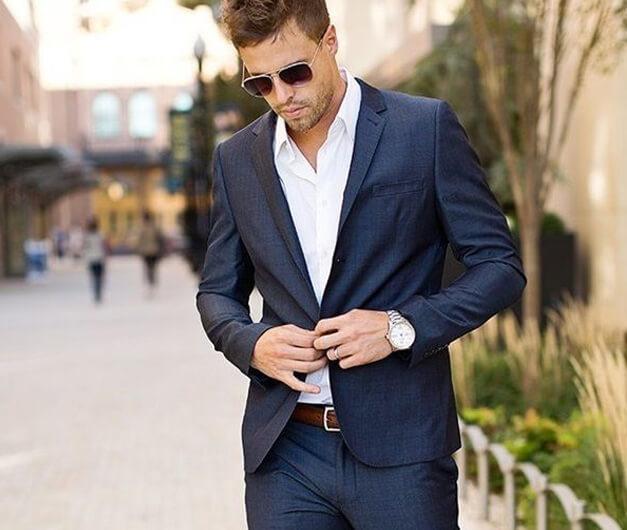 Dây thắt lưng nam -  mảnh ghép hoàn hảo cho bộ vest sang trọng!