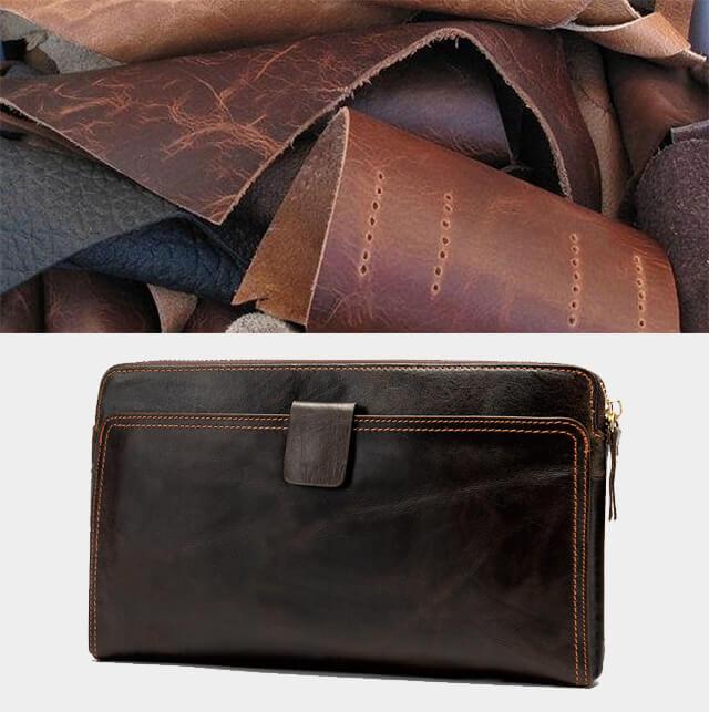 Công đoạn sản xuất và chế tác ví cầm tay