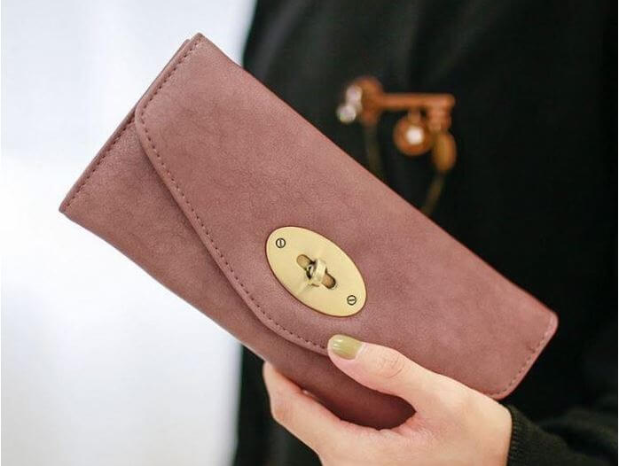 mẫu ví nữ cầm tay đẹp