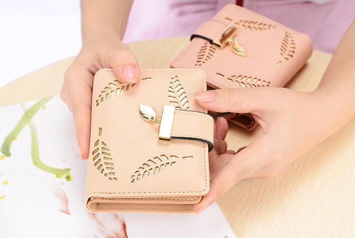 mẫu ví nữ cầm tay xinh