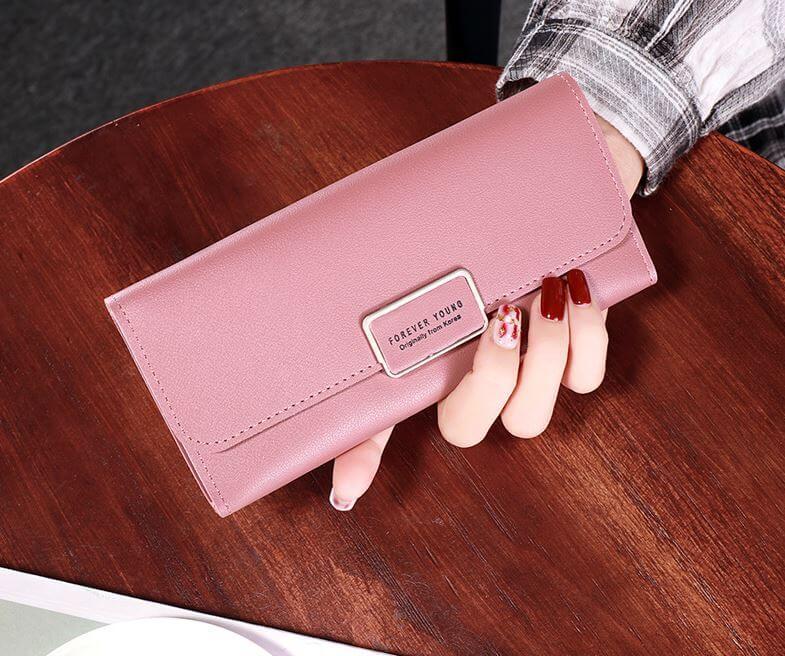 Mẫu ví cầm tay nữ