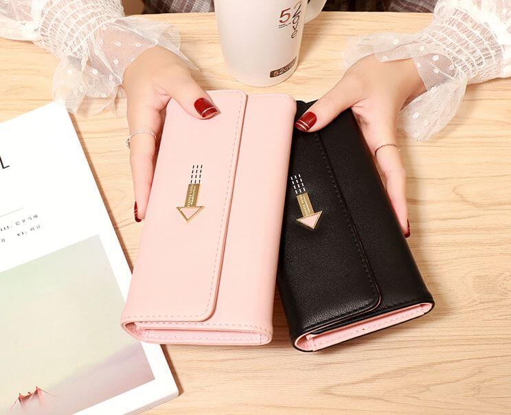 Mẫu ví cầm tay nữ xinh