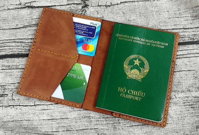 Mẫu ví đựng hộ chiếu - Passport