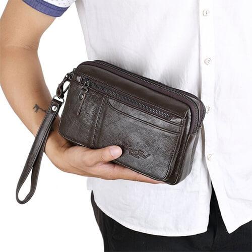 Những kiểu nam giới nào không nên sử dụng ví cầm tay nam?