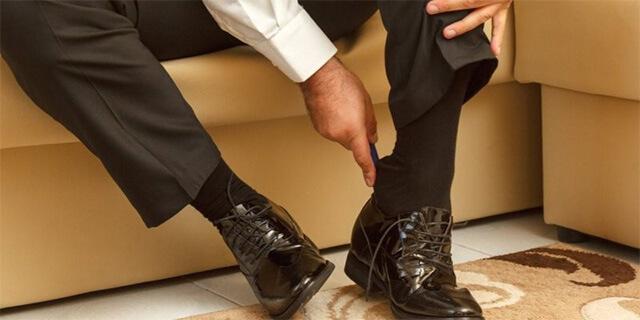 Phụ kiện thời trang: giày da nam