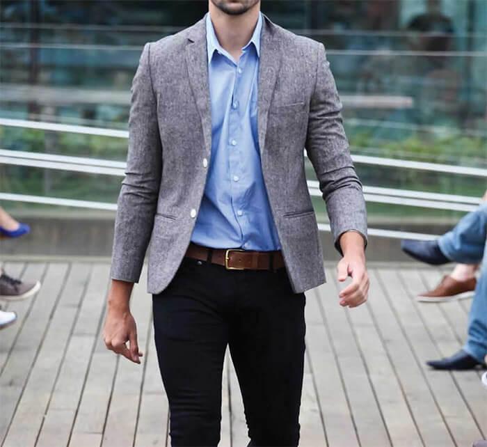 Lựa chọn kích cỡ dây thắt lưng cho bộ vest