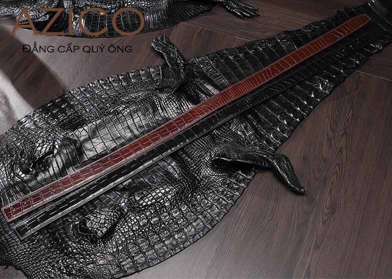 Bật mí địa chỉ bán thắt lưng da cá sấu Hà Nội chất lượng giá rẻ