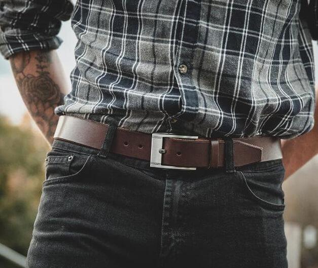 Nên sử dụng thắt lưng quần bò nào thì phù hợp?