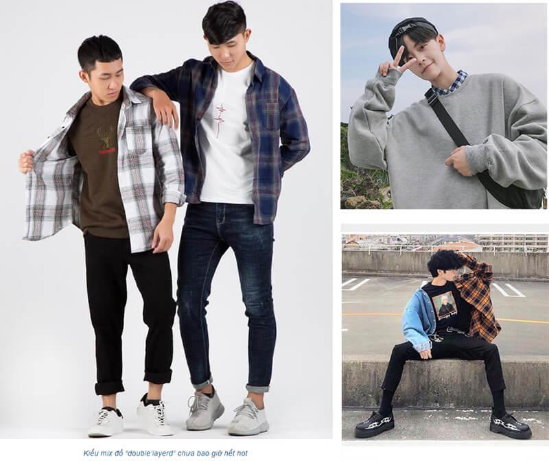 Thời trang Hàn Quốc cho nam