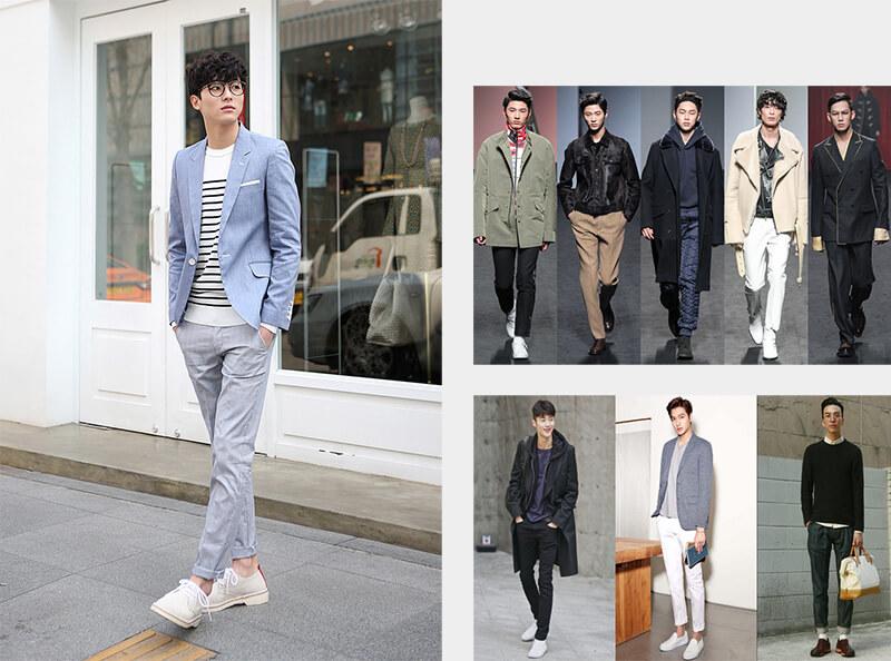Phối áo thun với áo Blazer thời trang Hàn