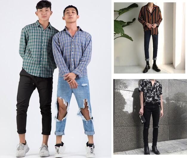 Phong cách thời trang Hàn Quốc