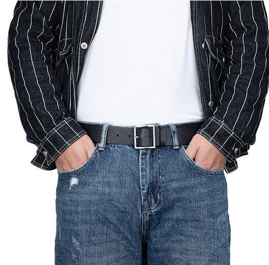 Dây lưng nam da bò đẹp mắt phong cách retro cho quần Jean nam C062
