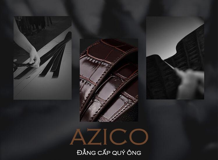 Azico cung cấp dây lưng nam da bò chất lượng cao