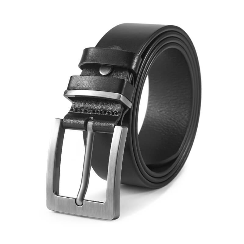 Thắt lưng nam cao cấp lịch lãm C584 mẫu màu đen