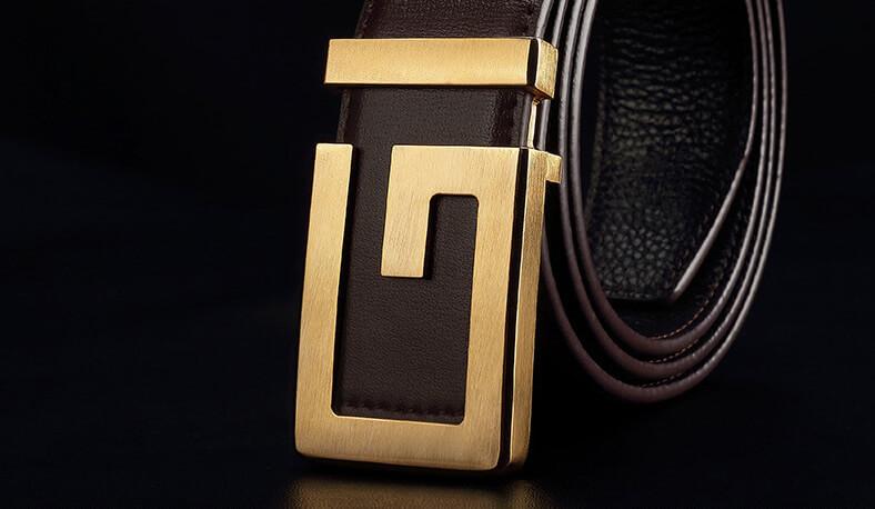 Mặt khóa thắt lưng nam chất liệu đồng cao cấp