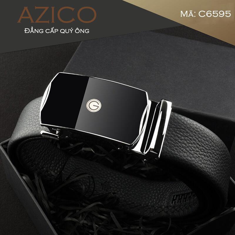 Thắt lưng nam da bò cao cấp thương hiệu AZICO