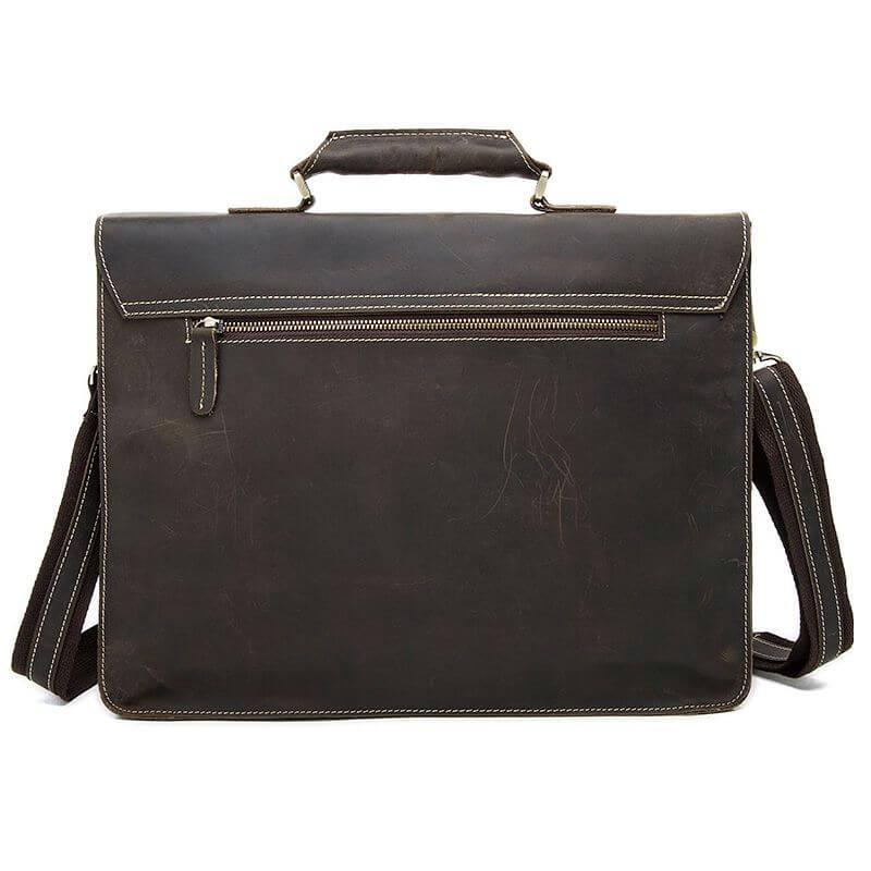 Cặp xách nam đựng laptop 15,6 inch da bò thật A7565