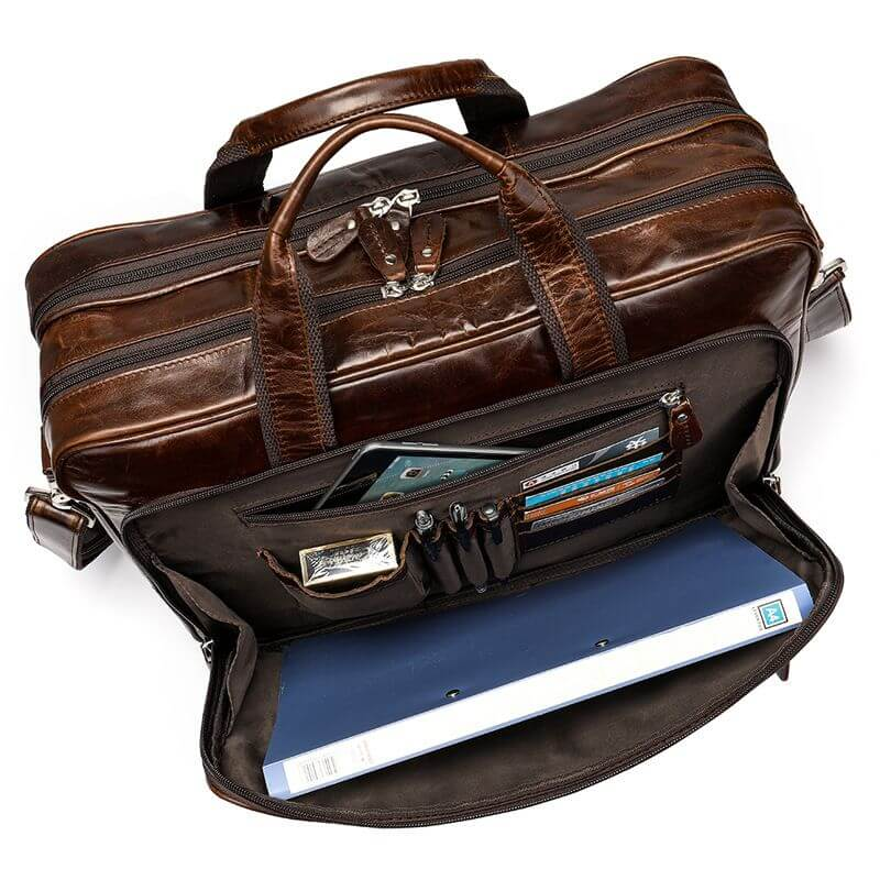 Túi xách du lịch cỡ lớn da thật thời trang A9530