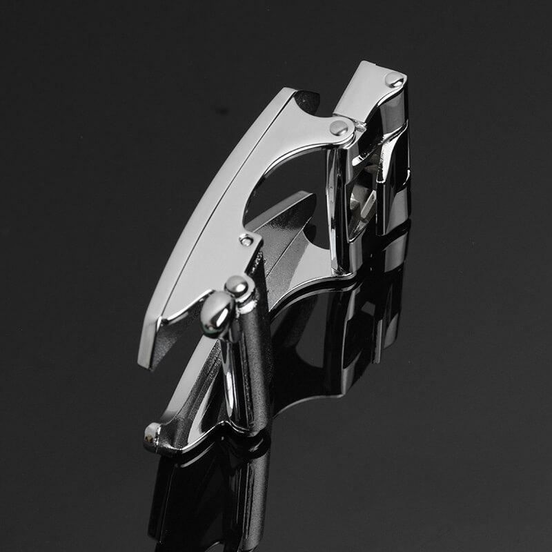 Mặt khóa thắt lưng nam màu bạc B506