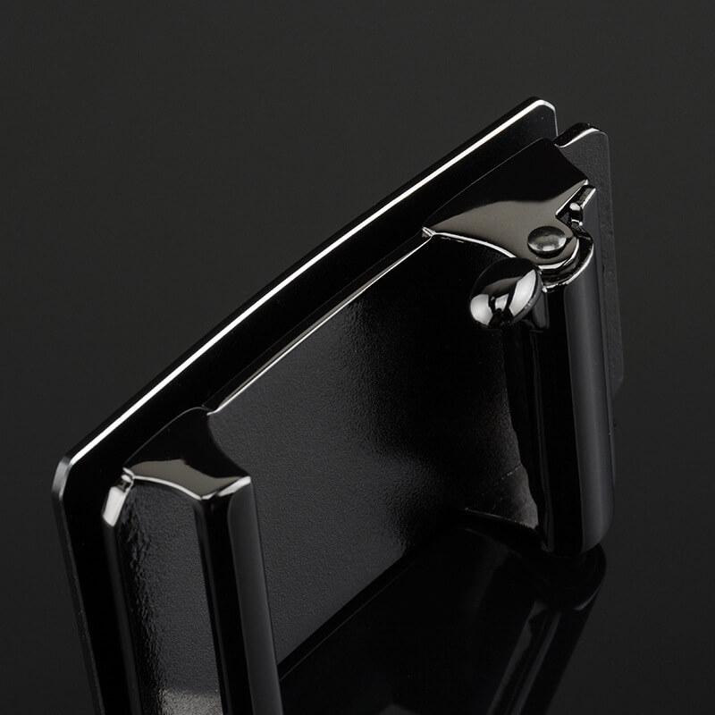 Mặt khóa trơn màu trắng bạc lôi cuốn B755