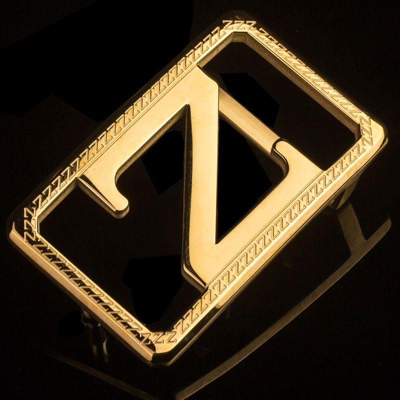Mẫu khóa màu vàng chữ Z sang trọng