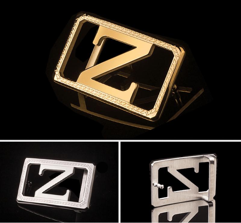 Vẻ đẹp của mẫu khóa thắt lưng hình chữ Z sang trọng