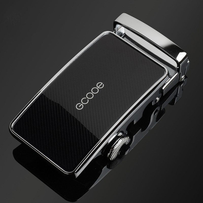 Khóa thắt lưng nam cao cấp thời trang B507 màu bạc