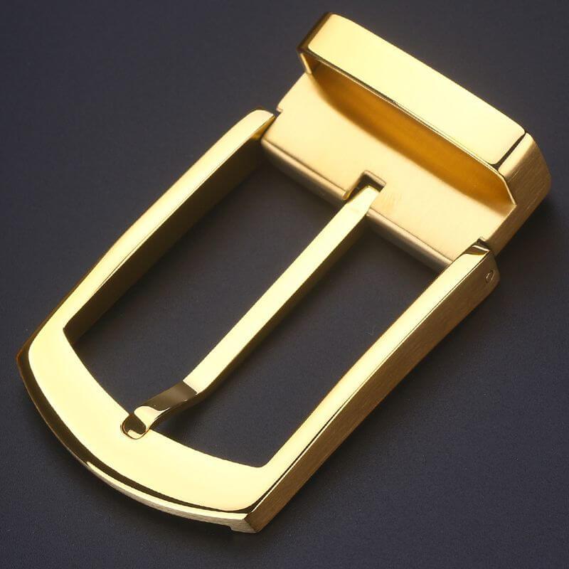 Mẫu mặt khóa nam B856 màu vàng