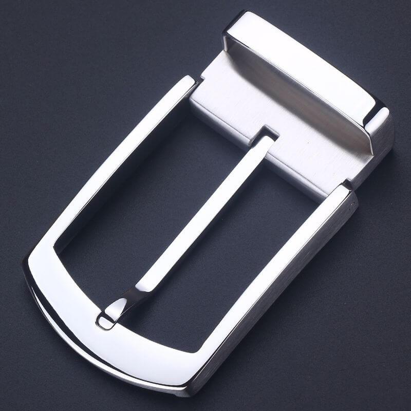 Mẫu mặt khóa nam B856 màu bạc