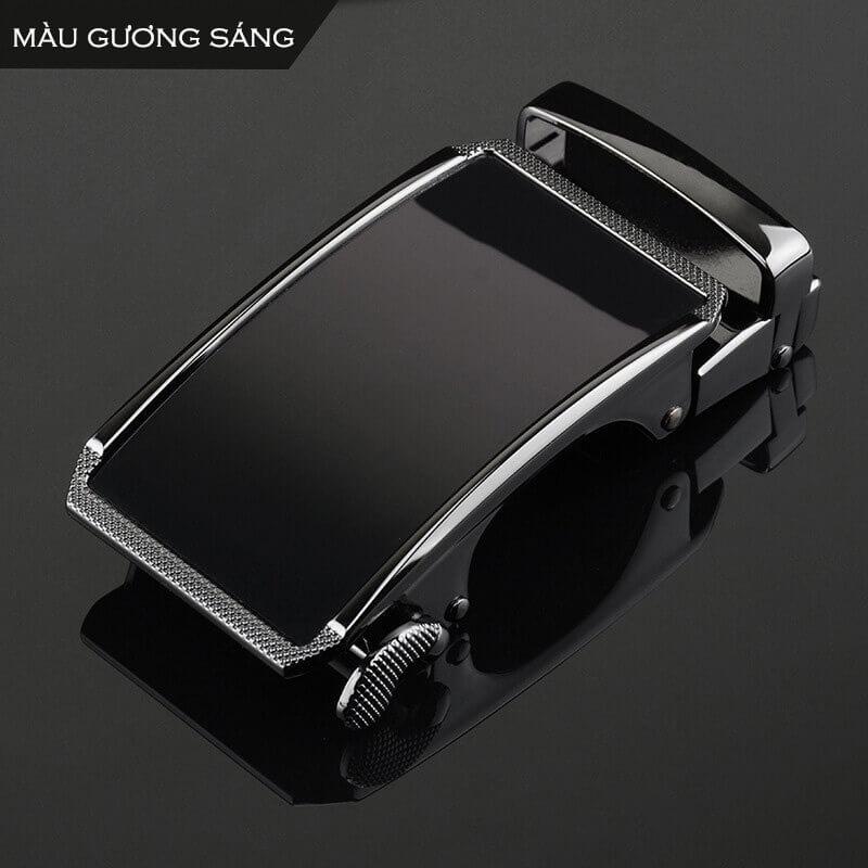Mẫu khóa thắt lưng nam D905 mặt gương bóng