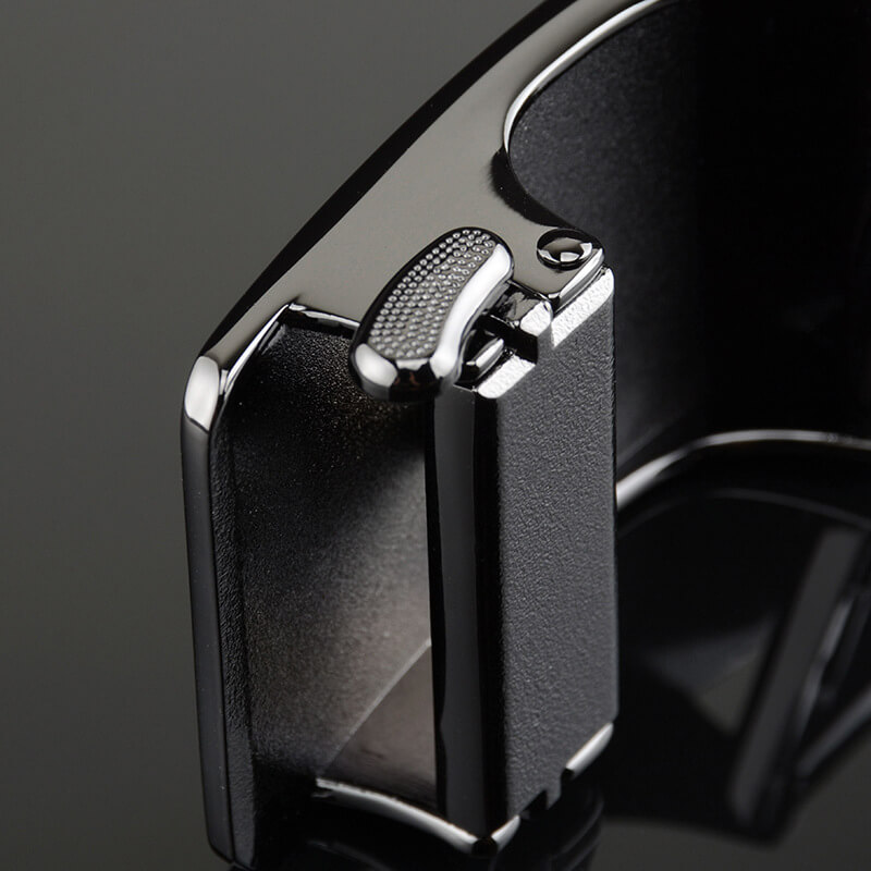 Mặt nghiêng của mẫu mặt khóa thắt lưng B655