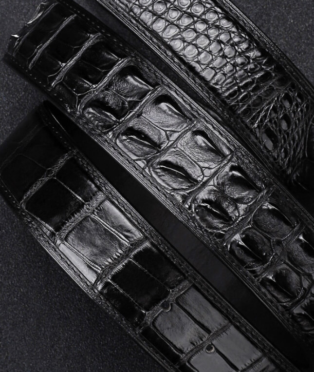 Thắt lưng da cá sấu AZICO