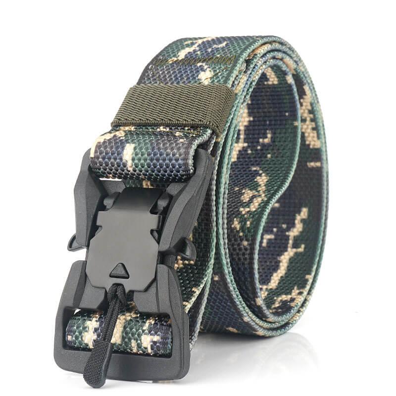 Thắt lưng quân sự chất liệu vải canvas bền đẹp H005