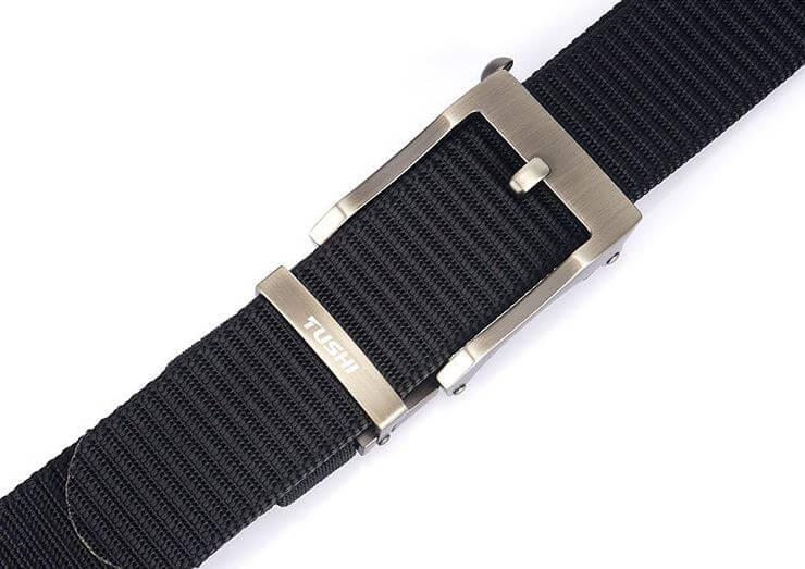 Thắt lưng vải khóa đẹp dáng cổ điển thanh lịch bản 3.4cm mã H013