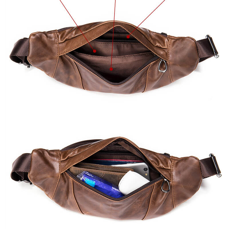 Túi bao tử đeo chéo trước ngực sang trọng G007