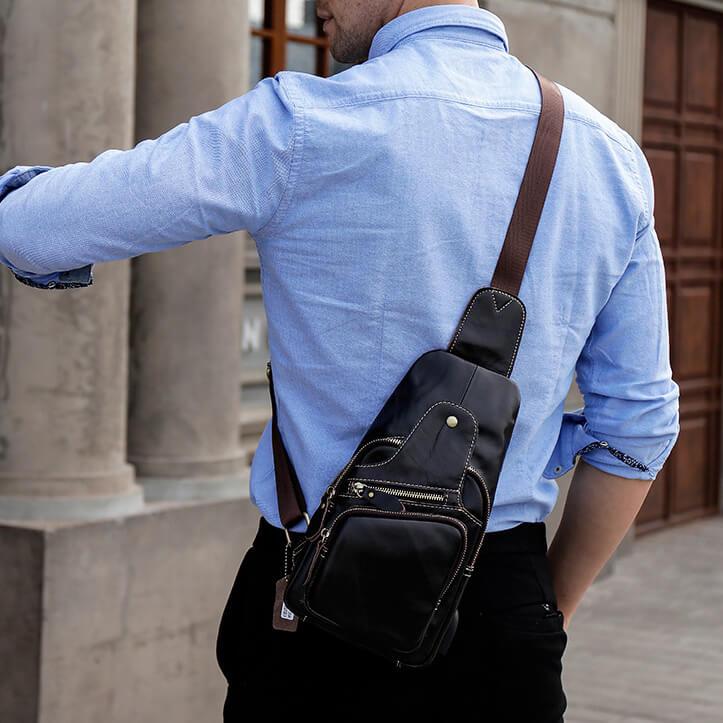 Túi đeo chéo nam đẹp