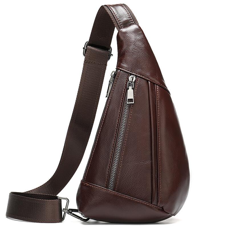 Túi đeo chéo da bò thật thời trang sang trọng G225