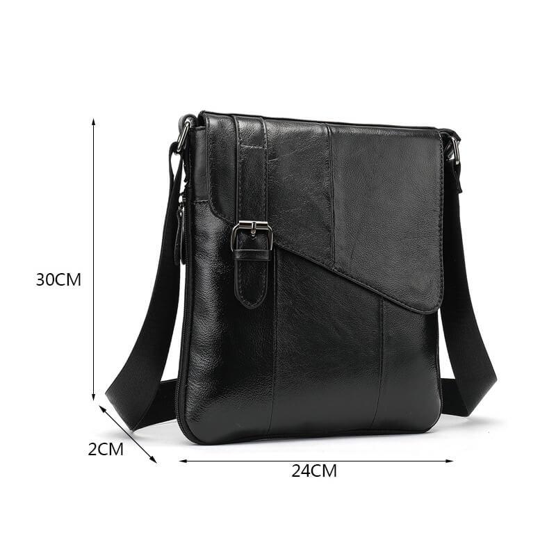Túi đeo chéo chất liệu da bò thật 100% đẹp mắt G286