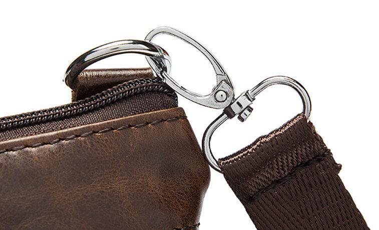Túi đeo vai nam da bò nhỏ gọn phong cách Hàn sang trọng G301
