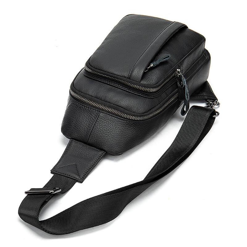 Túi đeo chéo nam da bò hạt phong cách Hàn Quốc G761