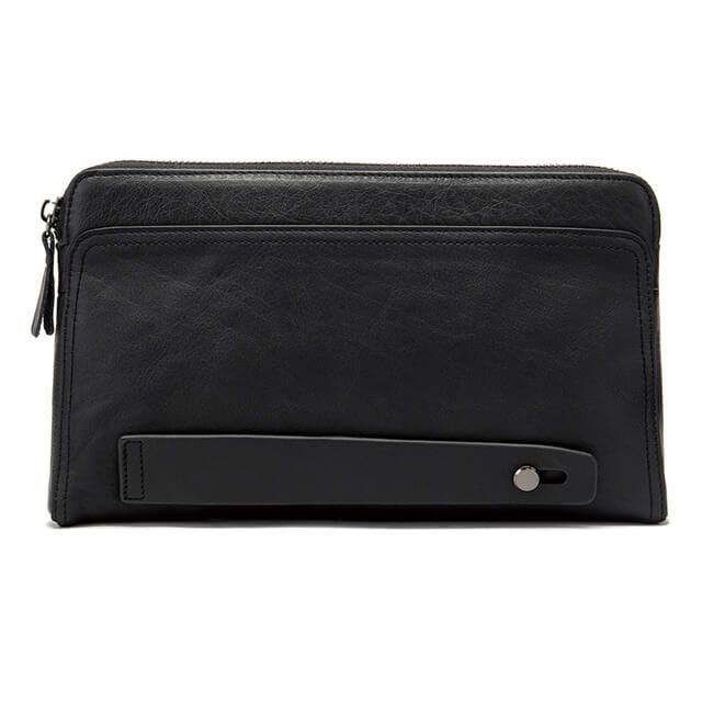 Mặt sau của mẫu ví cầm tay nam D309B