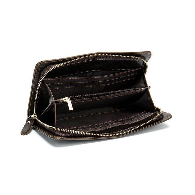 Mặt trong của mẫu ví nam D826