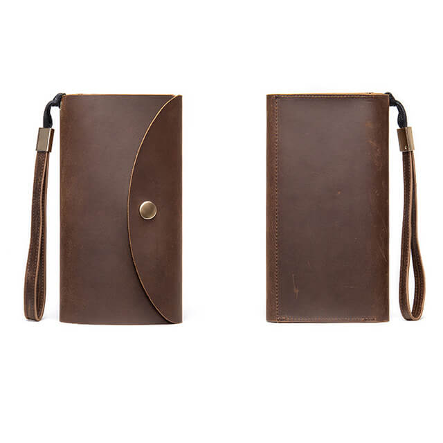 Kiểu dáng mặt trước và mặt sau của ví