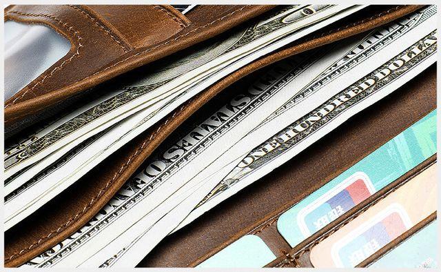 Ngăn trong đựng tiền của ví nam D097