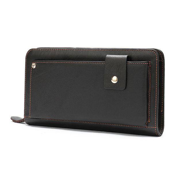 Mặt nghiêng của ví nam cầm tay D337B