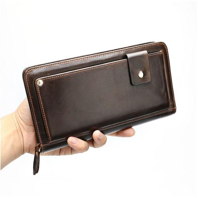 Vẻ đẹp sang trọng của ví cầm tay nam D337C