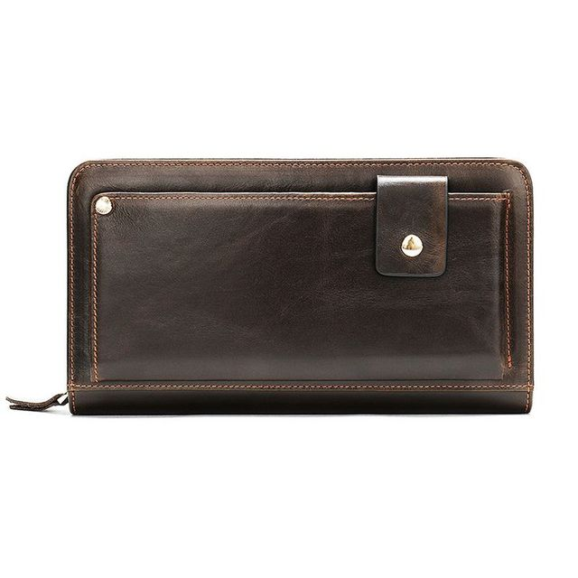 Mặt trước của ví cầm tay nam D337C