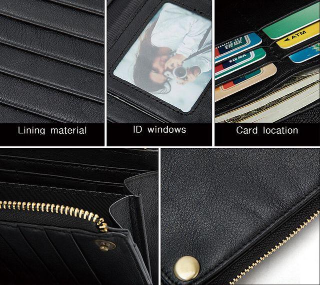 Đường nét của ví cầm tay nam D683