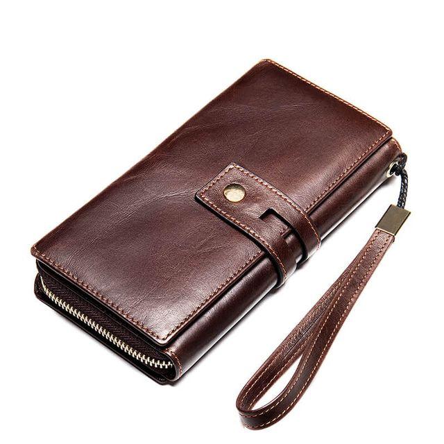 Kiểu dáng của ví cầm tay nam D771