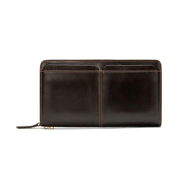 Mặt ngoài của ví cầm tay nam D826A